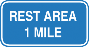 Rest Area Ahead